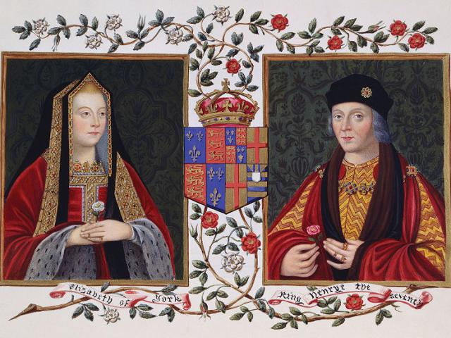 Elizabeth of York and Henry the Seventh